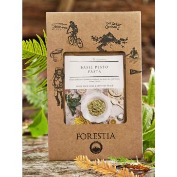 Danie obiadowe pojedyncze Forestia - Makaron z Pesto i bazylią z podgrzewaczem