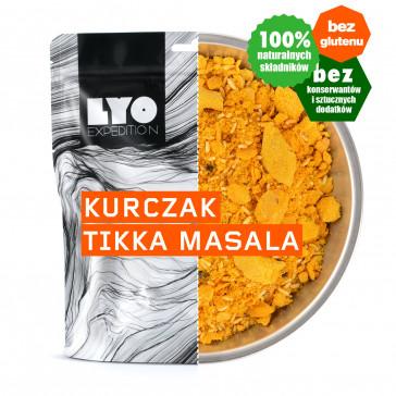 LyoFood Danie obiadowe mała porcja - Kurczak tikka masala