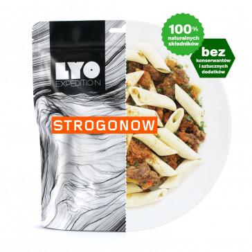 LyoFood Danie obiadowe duża porcja - Strogonow