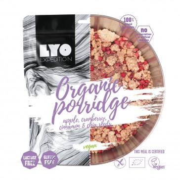 LyoFood Danie wegańskie mała porcja - EKO Owsianka z jabłkiem, żurawiną i cynamonem