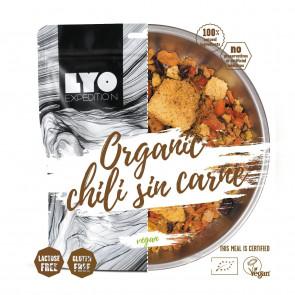 LyoFood Danie wegańskie mała porcja - EKO Chili sin carne z polentą