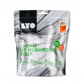 Danie wegetariańskie mała porcja - Zupa krem grzybowy
