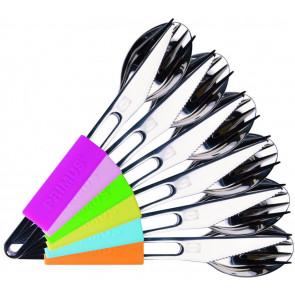 Sztućce Leisure Cutlery Fashion - mix kolorów